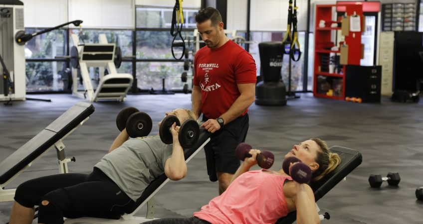 Personal training at Formwell
